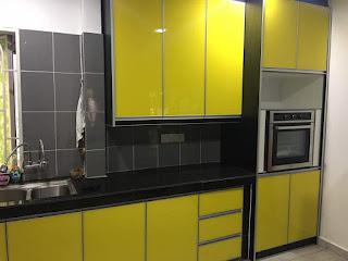 Call Wasap Kami Untuk Tanya Harga Dan Material Melamine 2g 3g Kuning Kabinet Dapur