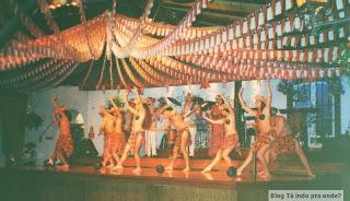 show folclórico em Santiago