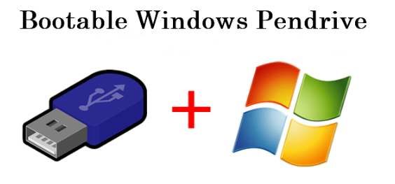 A Guide To Make Bootable USB Pendrive For Windows 7, 8, 10