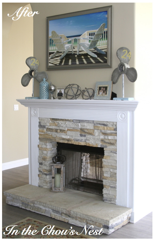 In The Chou S Nest Painted Fireplace Mantels