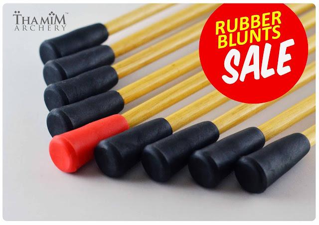 Thamim Archery Rubber Blunts