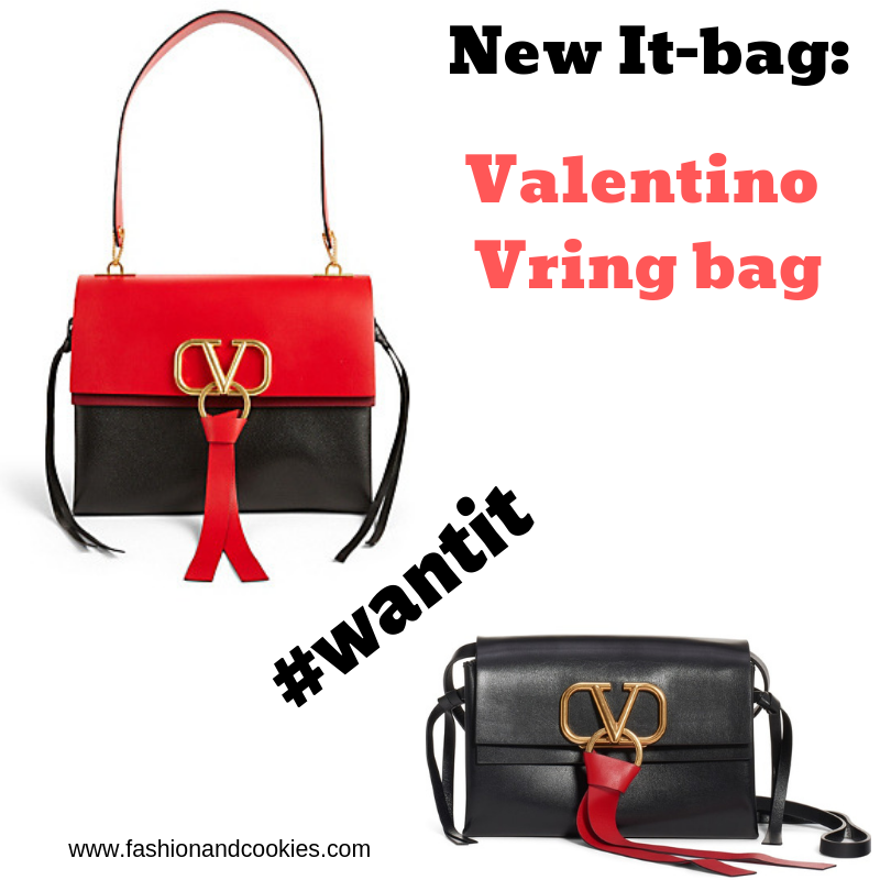 New It-bag: Valentino Vring bag directly in my #wishlist on Fashion and Cookies fashion blog, fashion blogger style