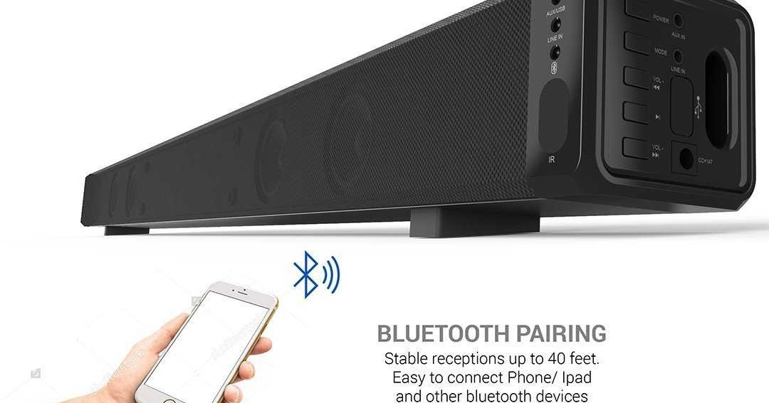 Review Soundpal Sp603 37 Inch Wireless Audio 2 0 Channel