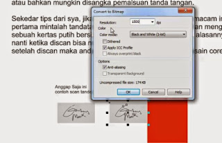 How to Scan a Signature and insert it to a Design