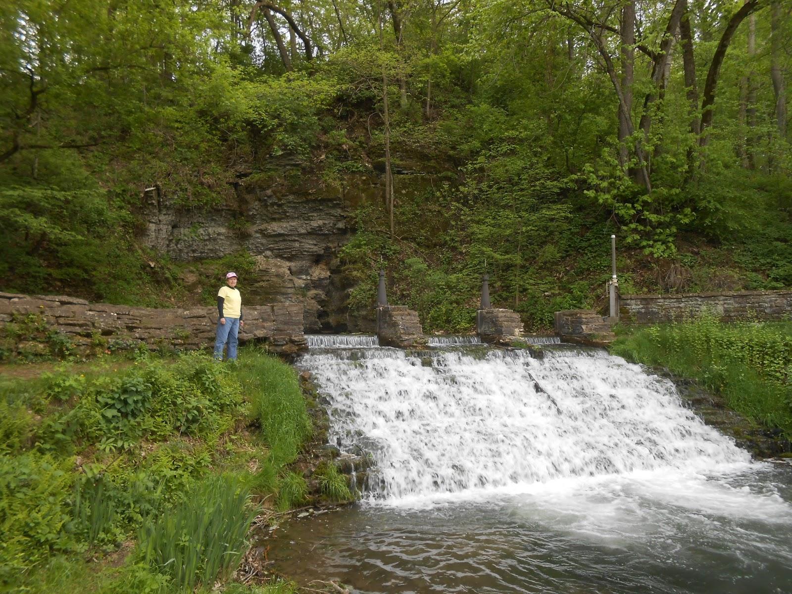 Iowa waterfalls day 2 for Iowa fish hatcheries