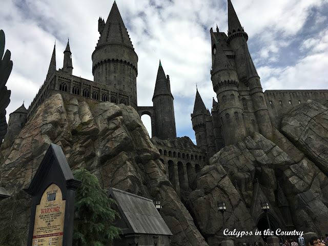 Harry Potter Castle at Universal Hollywood