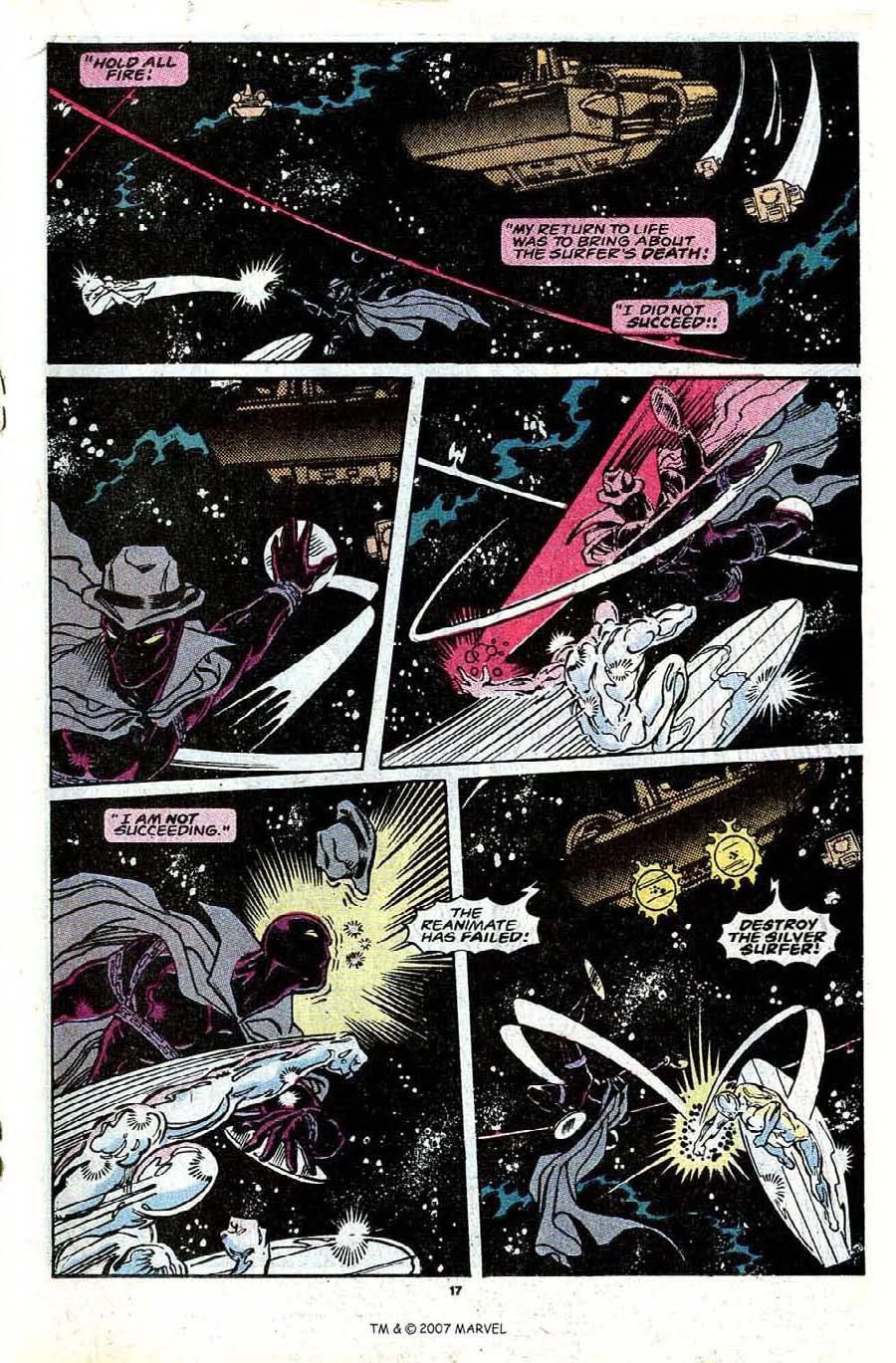 Read online Silver Surfer (1987) comic -  Issue #30 - 19