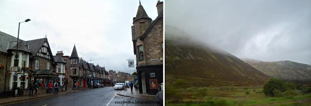 Viaje a Escocia: día 3 Pitlochry y vista de las Highlands
