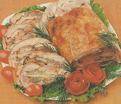 Рецепт приготовления куриного рулета с омлетом, необходимые ингредиенты и способ приготовления