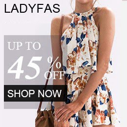 Ladyfas Maxi Fashion Women's Summer Clothes 2019