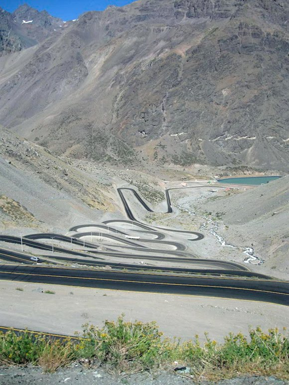 Los Caracoles Pass – Andes