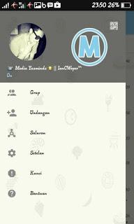 Tema BBM MODTerbaru Blue Sky V3.0.0.18 APK