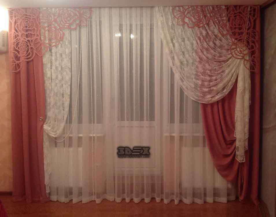 Top 50 curtain design ideas for bedroom modern interior for 3 window curtain design