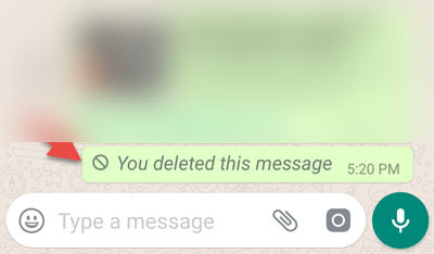 Delete Whatsapp Messages