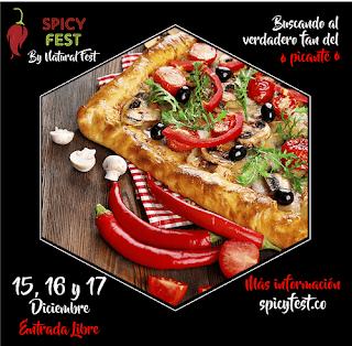 1ER Festival de comida picante de Bogotá es SPICY FEST 2017 2