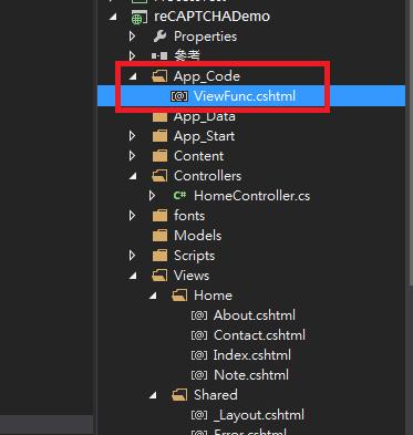 razor functions in app_code