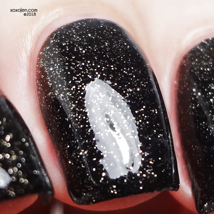 xoxoJen's swatch of Girly Bits COTM: January 2019 After Midnight