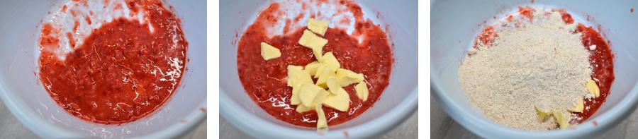 Rezept: Erdbeer-Haselnuss Kekse für Hunde