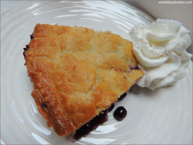 Applecrest Farm: Tarta de Arándanos Salvajes de Maine