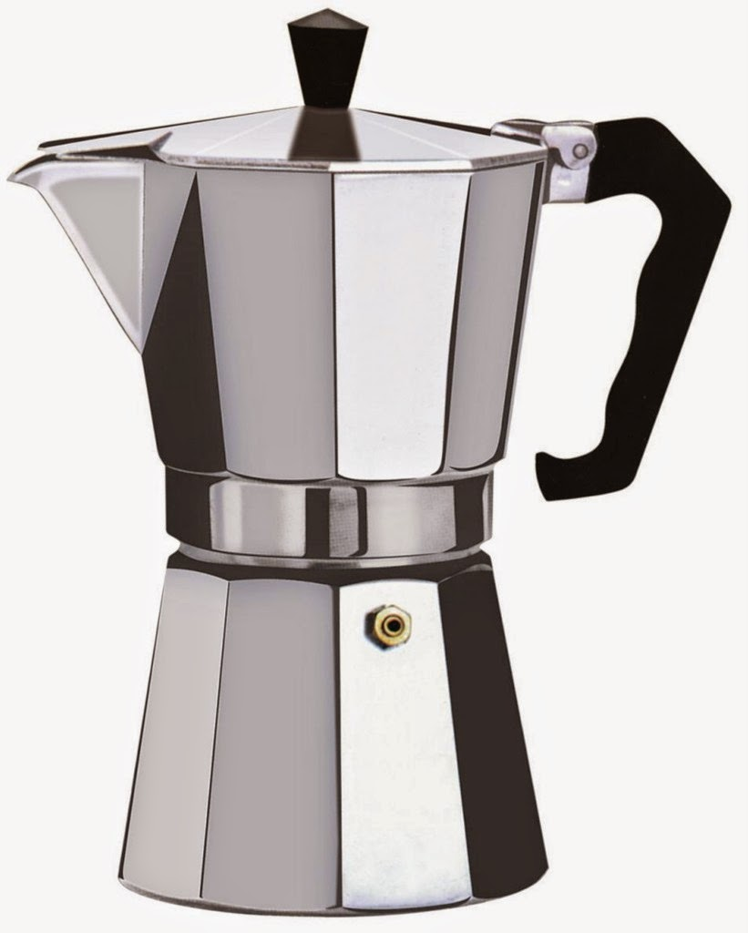 Also called a moka pot