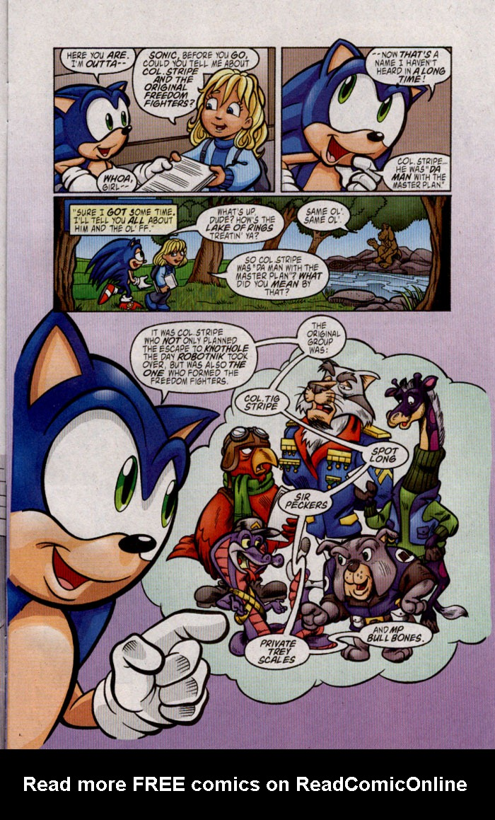 Read online Sonic The Hedgehog comic -  Issue #142 - 6