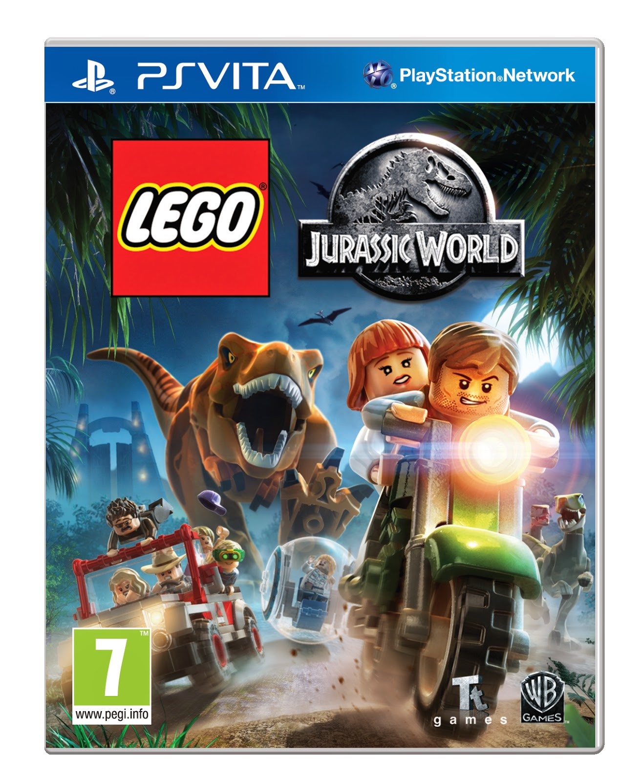 jurassic world game ps vita