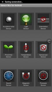Coolpad Max Lite - ke(tidak)lengkapan sensor