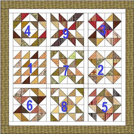 Charm Square Quilt Along Part 8