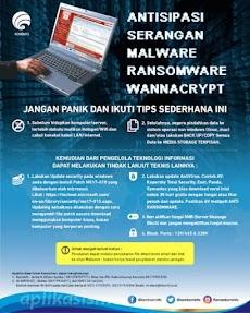 Saran Pencegahan Agar Tidak Terjangkit Ransomware WannaCry