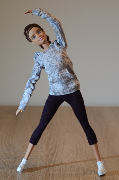 Hoodie for Made To Move Barbie.