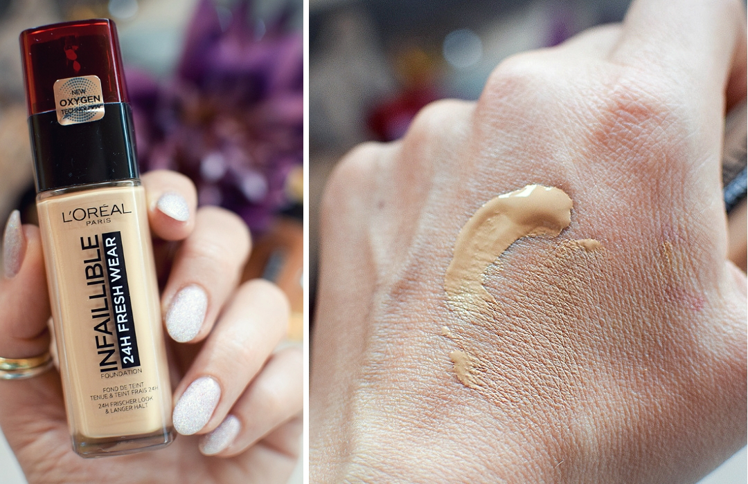 Wie gut deckt die L'Oréal Infaillible 24h Fresh Wear Foundation