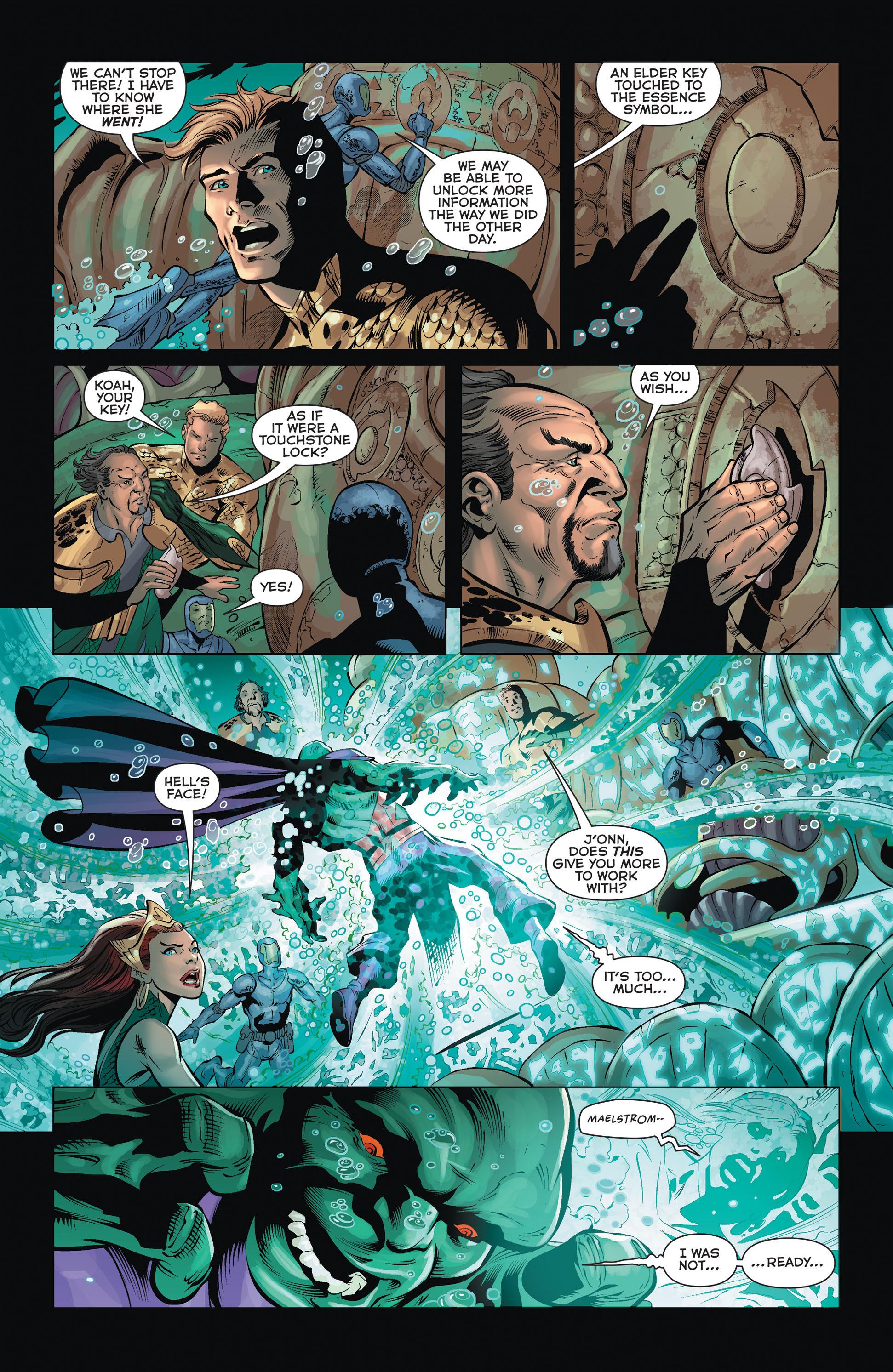 Read online Aquaman (2011) comic -  Issue #36 - 12