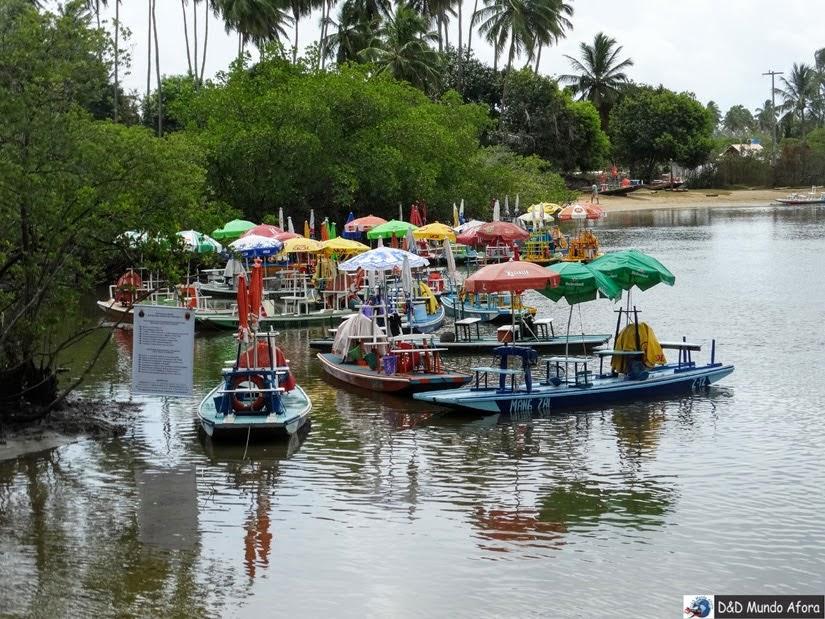 O que fazer em porto de galinhas - Pontal do Maracaípe