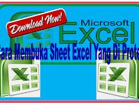 Cara membuka Aplikasi Sheet Excel yang di Protect