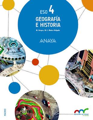 LIBROS DE TEXTO - Geografía e Historia : 4 ESO  Aprender es crecer en conexión | Anaya  Madrid Curso 2016-2017 | Comprar en Amazon España