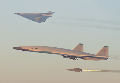 avión hipersonico ruso