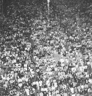 Una nottata tipica di Messenzio 1976