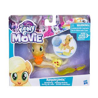 My Little Pony The Movie Sea Pony 3-inch Figure - Applejack