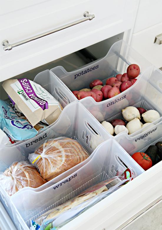 gaveta comidas, gaveta comida, gaveta cozinha, gaveta organizada, a casa eh sua, acasaehsua