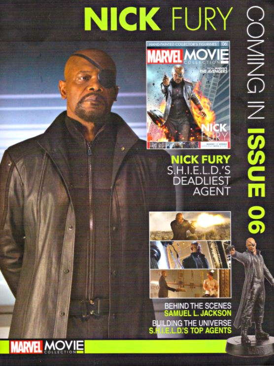 Next issue has Samuel L Jackson!