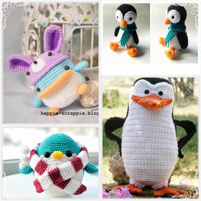 Amigurumi To Sell : Amigurumi: Incr?veis Receitas de Pinguins Amigurumis ...