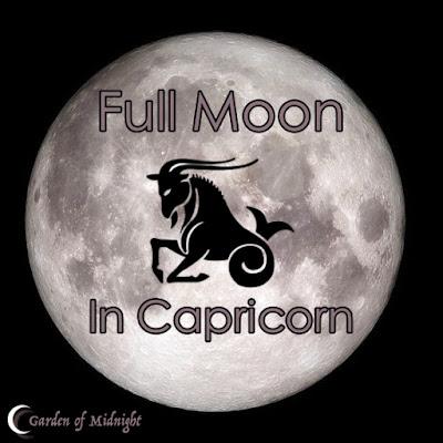 luna piena in capricorno