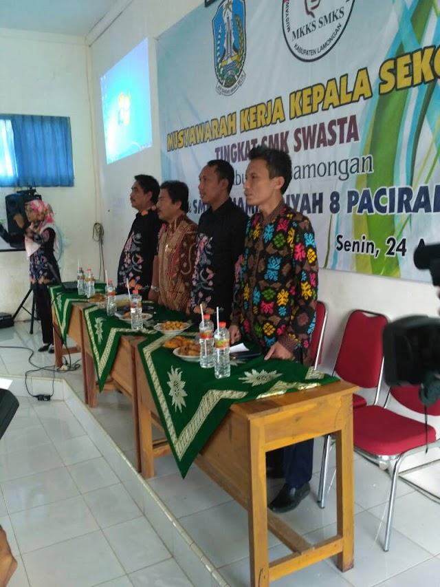 Musyawarah Kepala Sekolah SMK swasta se-kabupaten Lamongan