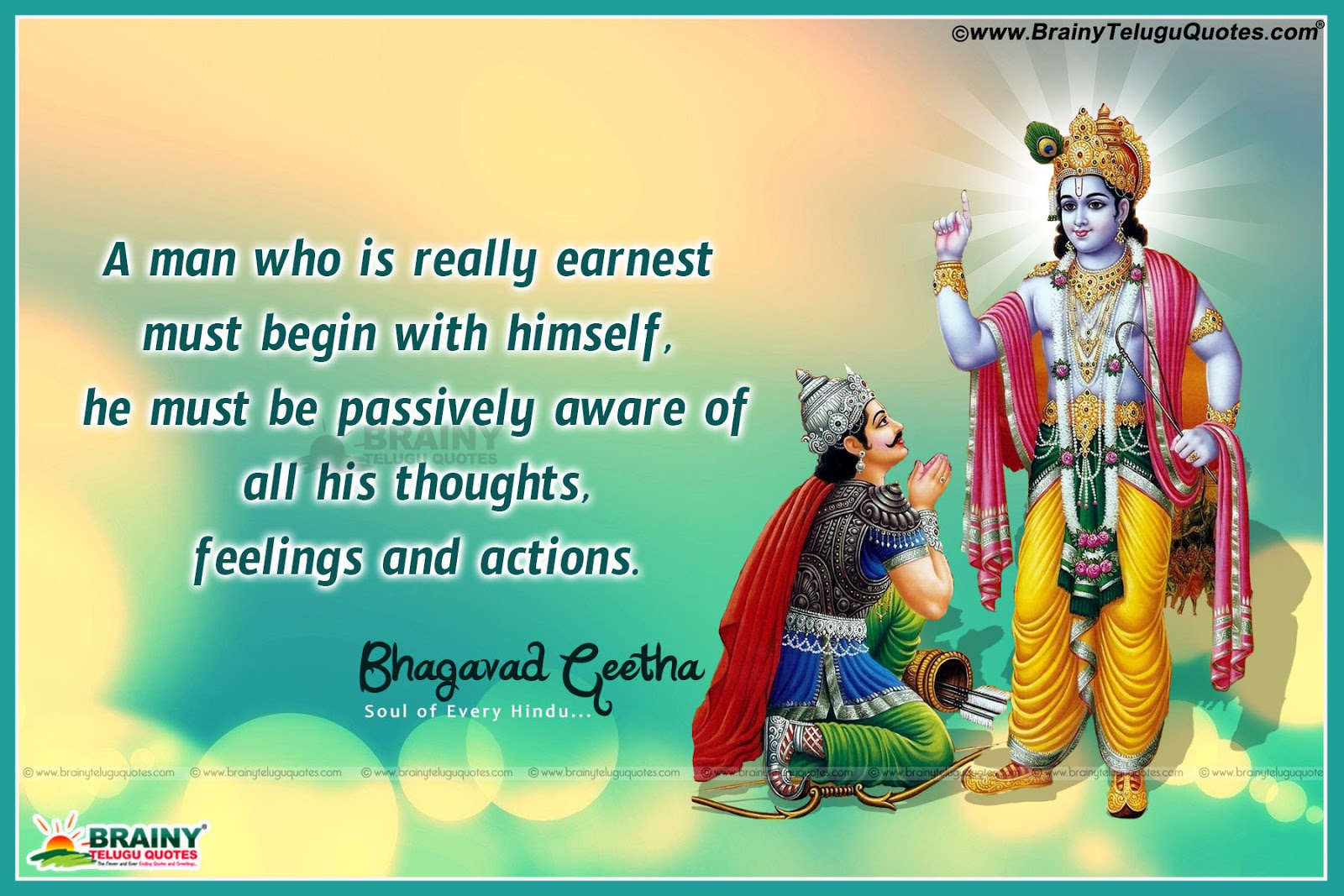 Lord Krishna Quotes Best Bhagavad Gita Quotes And Sayings In English With Wallpapers