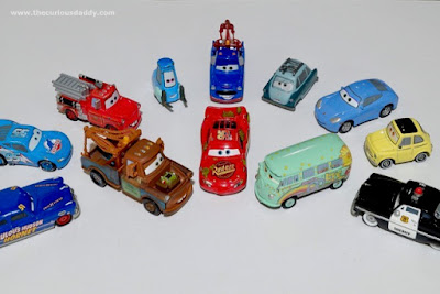 No Tv? No Tablet? No Problem! -- Die Cast Toys from Cars The Movie
