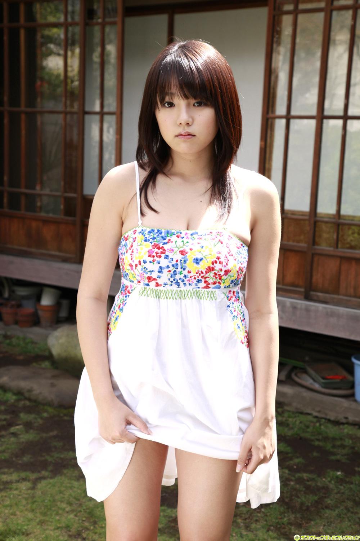 Ai Shinozaki Photo - Blue Bikini In Garden -Sexy Japanese -6813