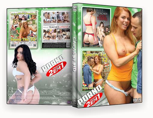 CAPA DVD – COLEÇÃO PORNO DVD-R VOL 19 – ISO