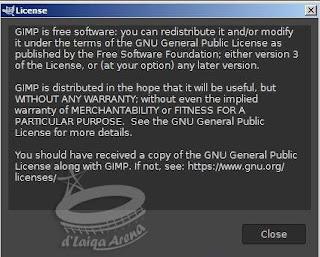lisensi GIMP