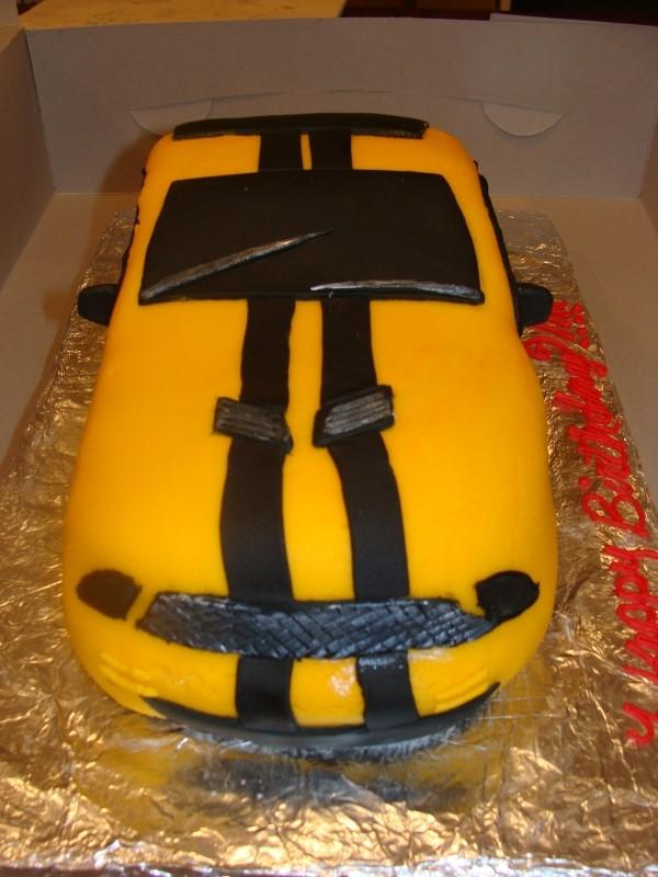 Q8 Mustang Mustang Birthday Cakes كيكة عيدميلاد موستنج