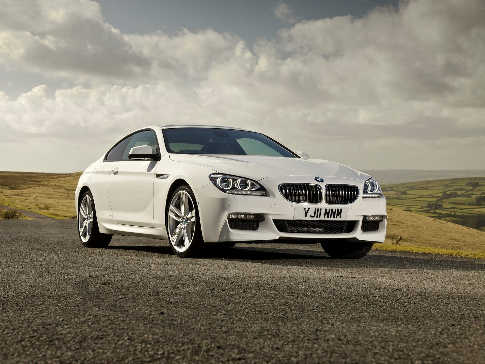 2012 Bmw 640d Coupe Desktop Wallpapers